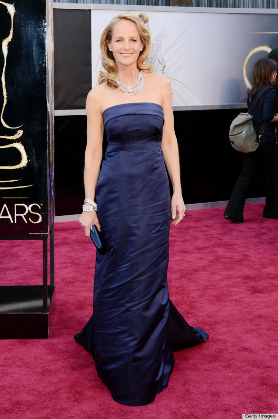helen hunt oscar dress 2013