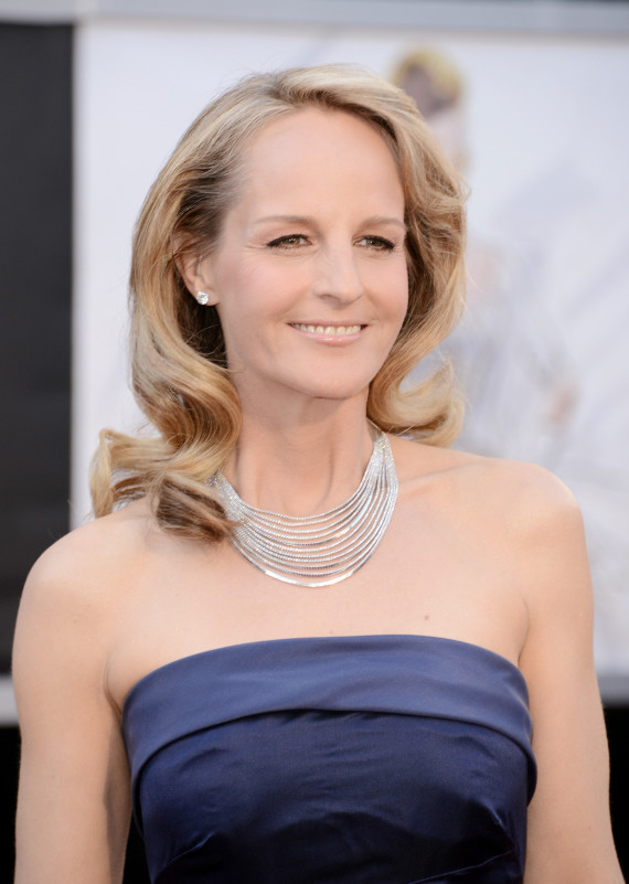 Helen Hunt S Oscars Dress 2013 Is H Amp M Photos Huffpost