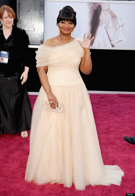 Octavia Spencer's Oscar Dress 2013 Is Another Gorgeous ...