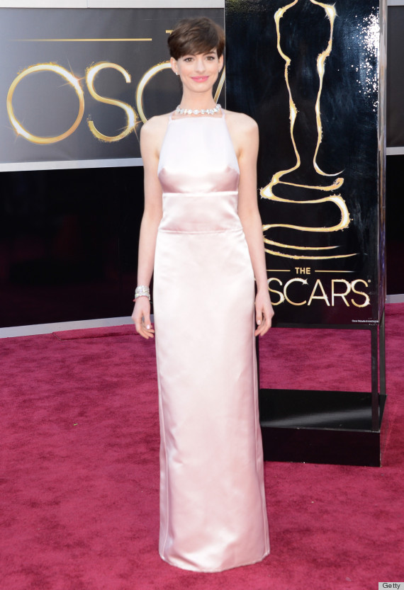 Anne Hathaway Oscar Dress 2013: See Her Red Carpet Look
