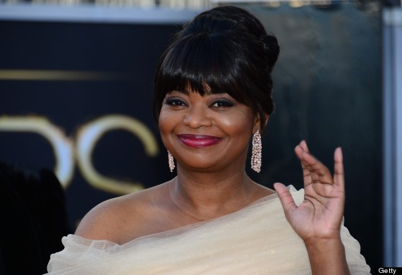 octavia spencer oscar dress 2013