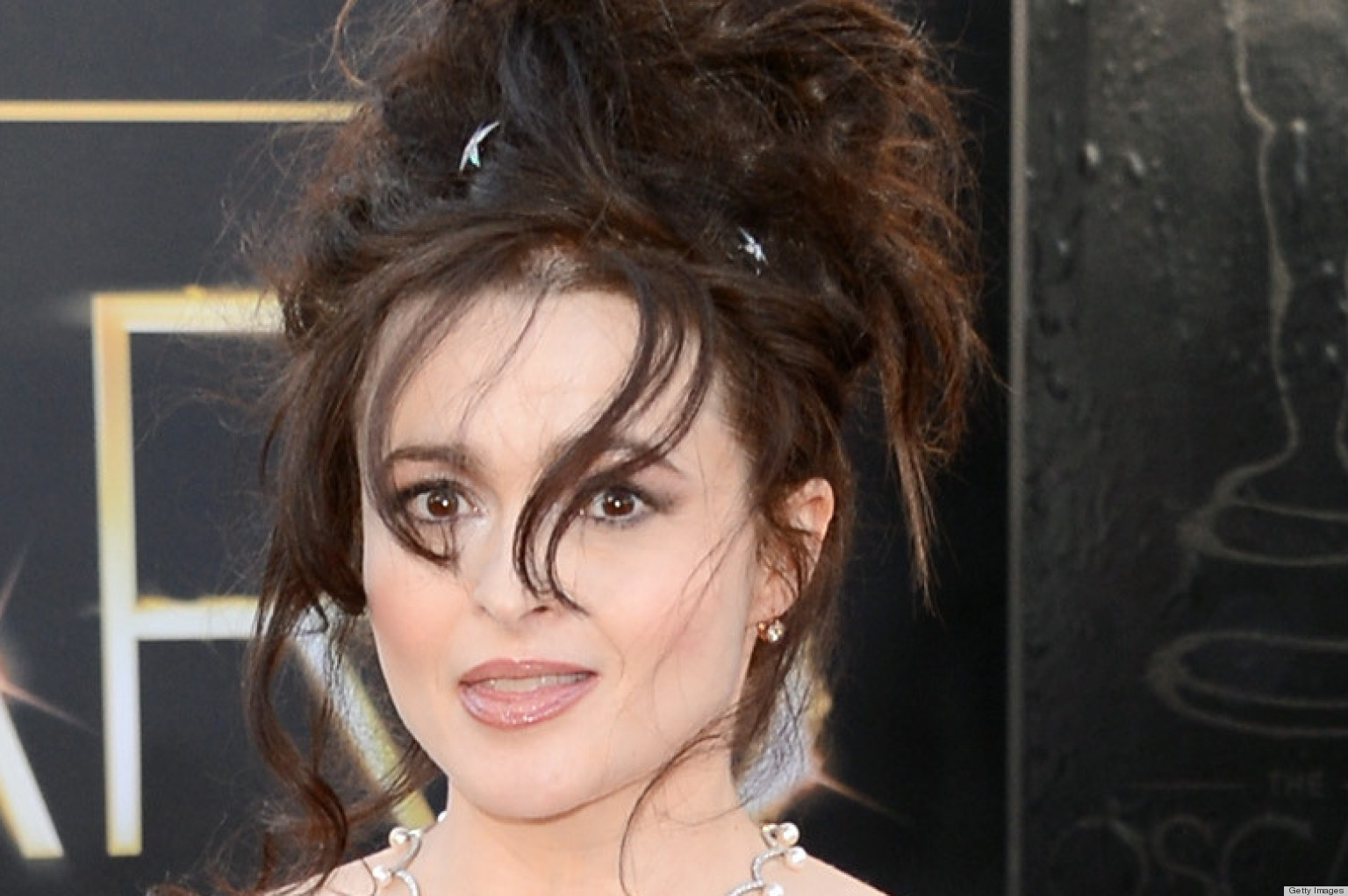 Helena Bonham Carter's Oscar Dress 2013 Is Vivienne Westwood (PHOTOS ... Helena Bonham Carter