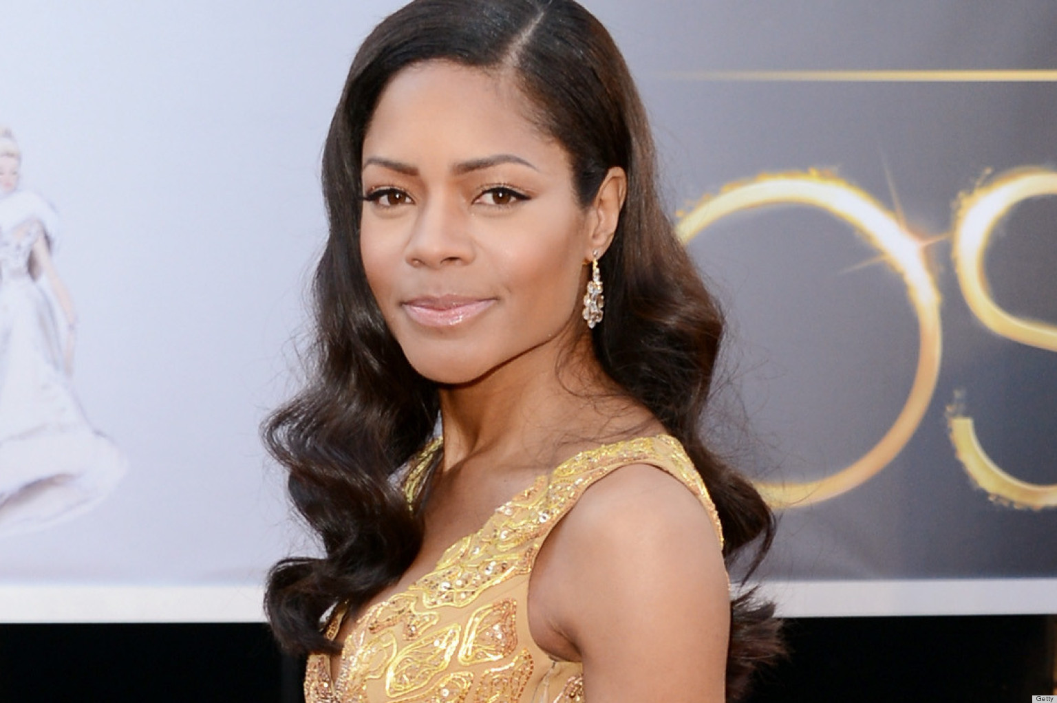 PHOTOS: Naomie Harris' Oscar Dress Features Way Too Much Leg For Our Comfort