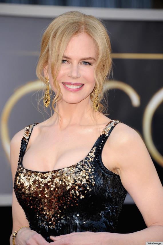 Nicole Kidman S Oscar Dress 2013 Is L Wren Scott Photos