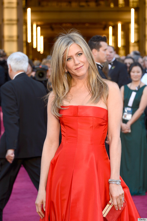 jennifer aniston oscar dress 2013