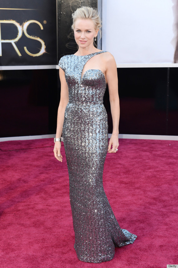 naomi watts oscar dress 2013