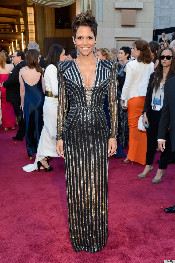 Halle Berry Oscar Dress 2013: See Her Red Carpet Look! (PHOTOS)