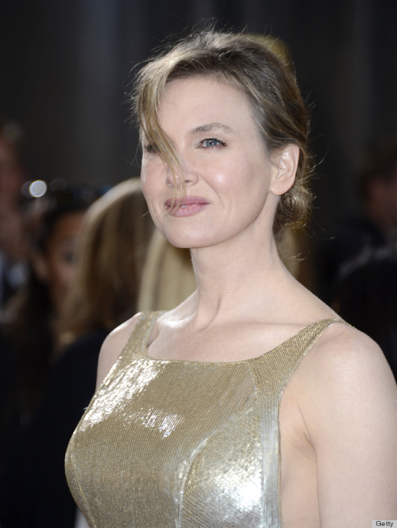 renee zellweger oscar dress 2013