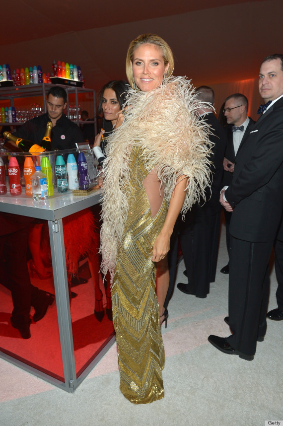 heidi klum oscar dress 2013