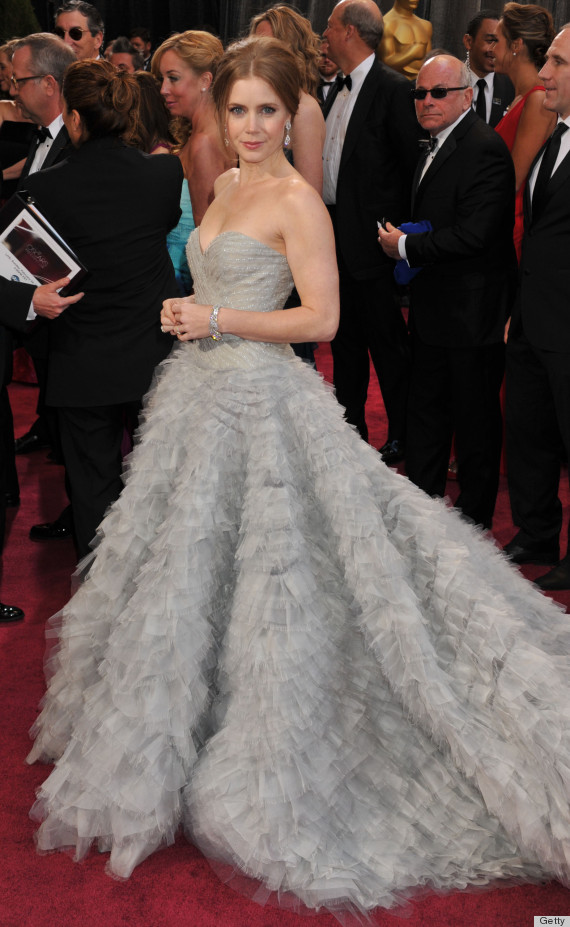 amy adams oscar dress
