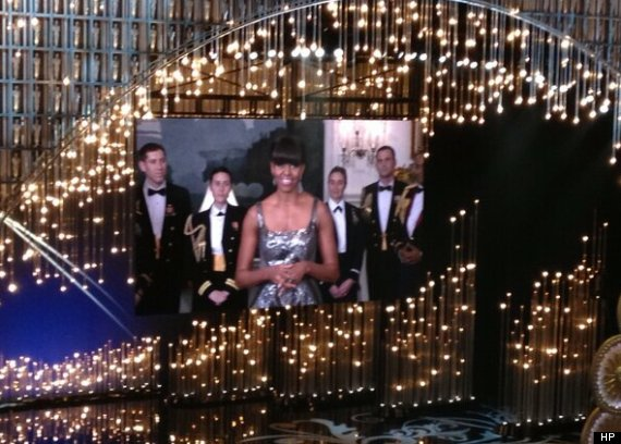 michelle obama en los oscar 2013