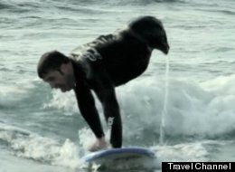 WATCH: Man With No Legs Surfs