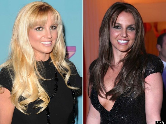 britney spears make over