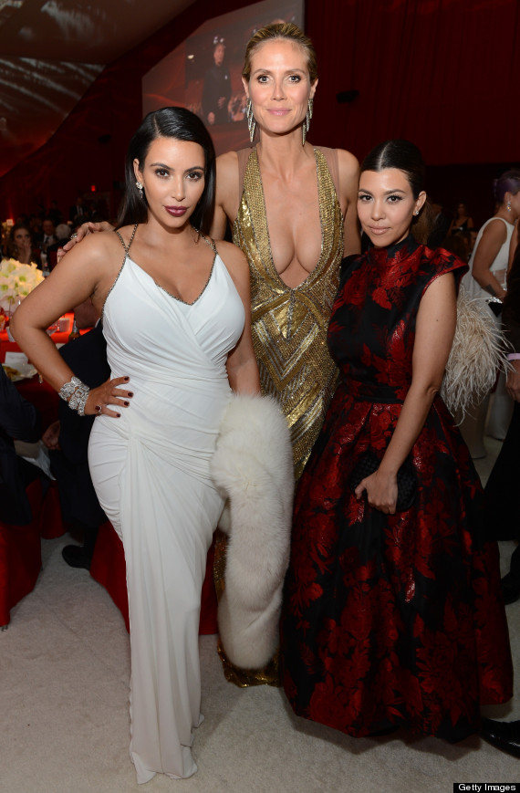 kim kardashian heidi klum