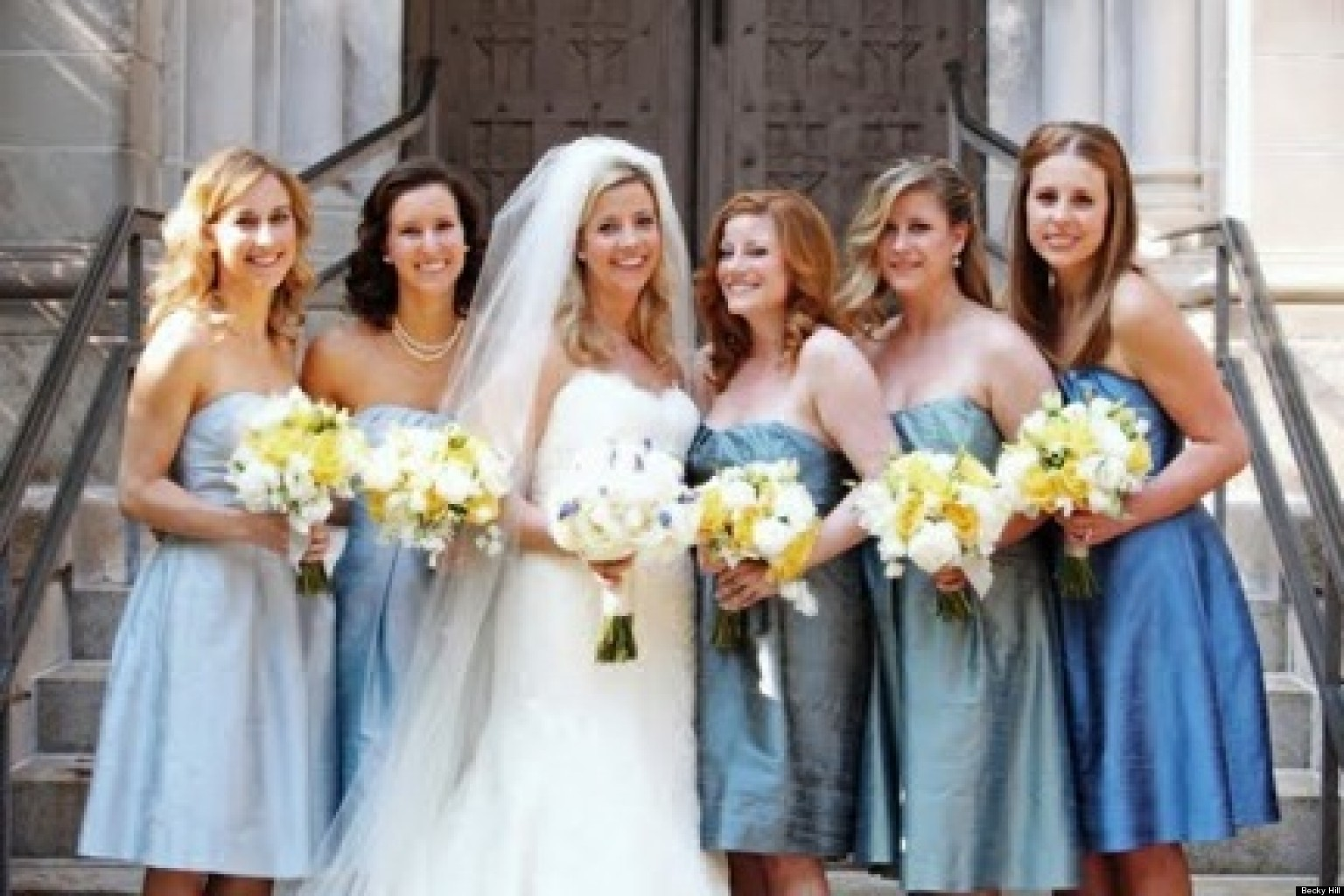 Should You Let Your Bridesmaids Choose Their Own Dresses