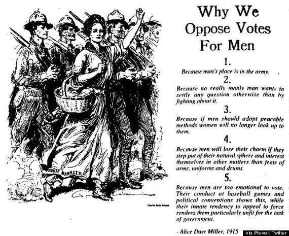 why men shouldnt vote