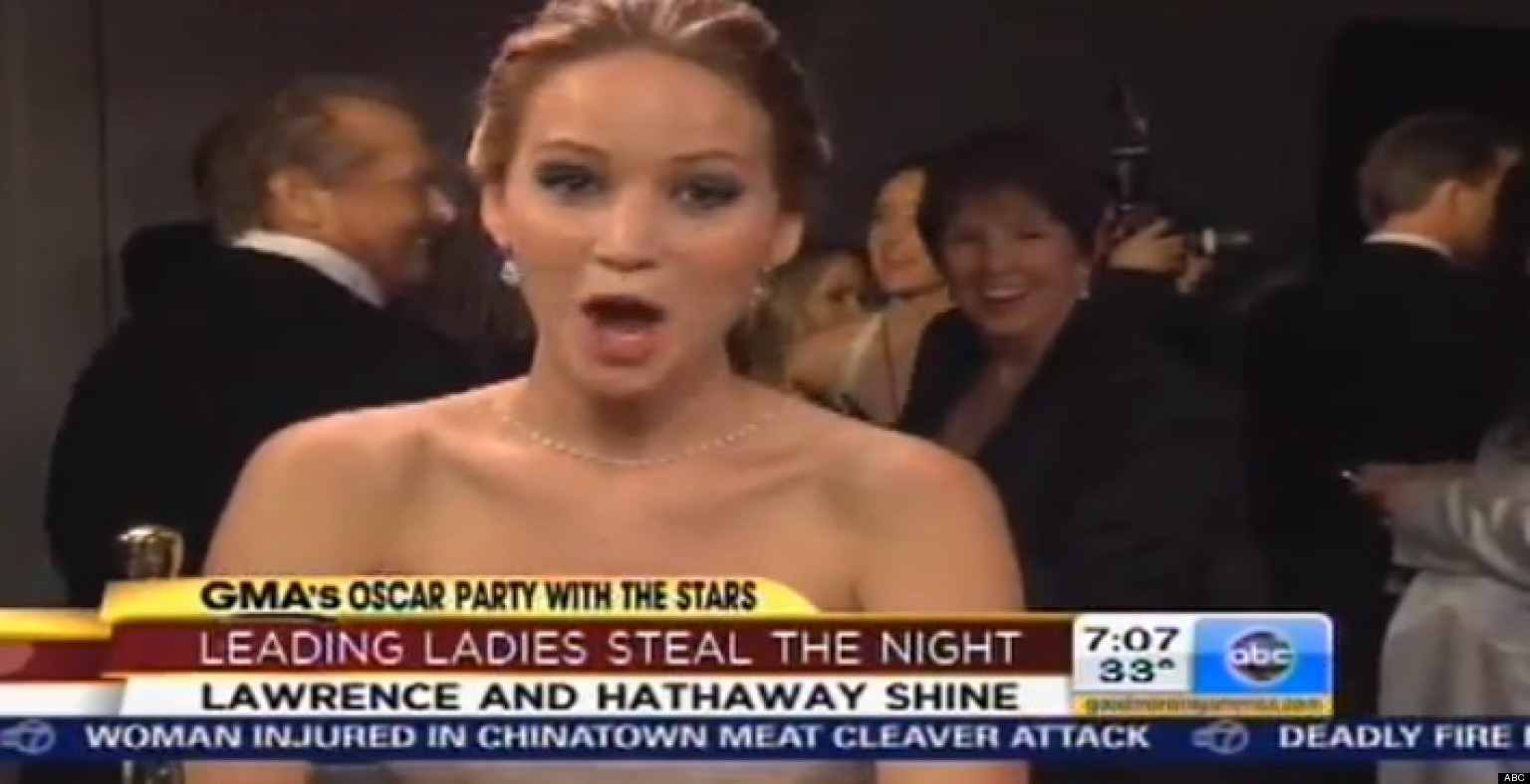 jennifer lawrence jack nicholson meet after the 2013 oscars part