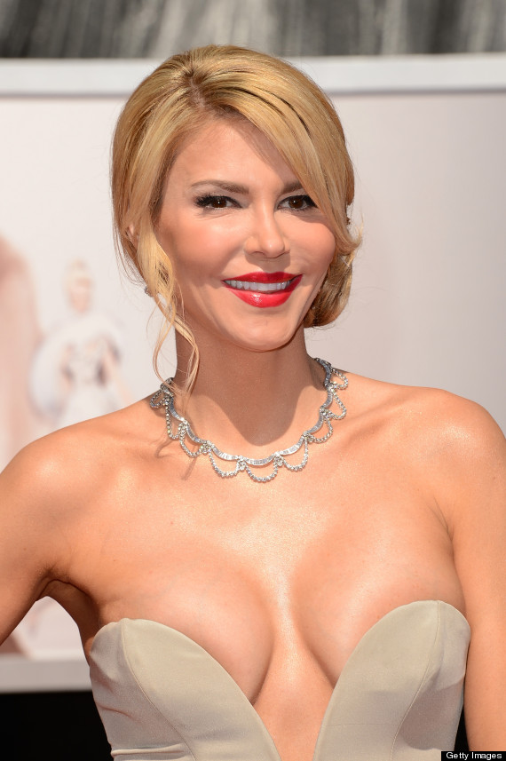 Brandi Glanville & Her Cleavage Were Unexpected Attendees At The