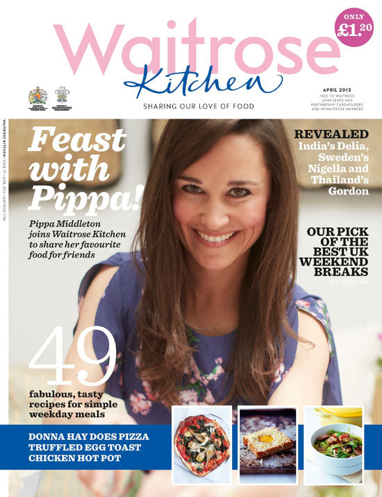pippa middleton supermarket magazine