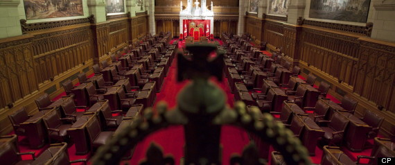 CANADA SENATE PROOF