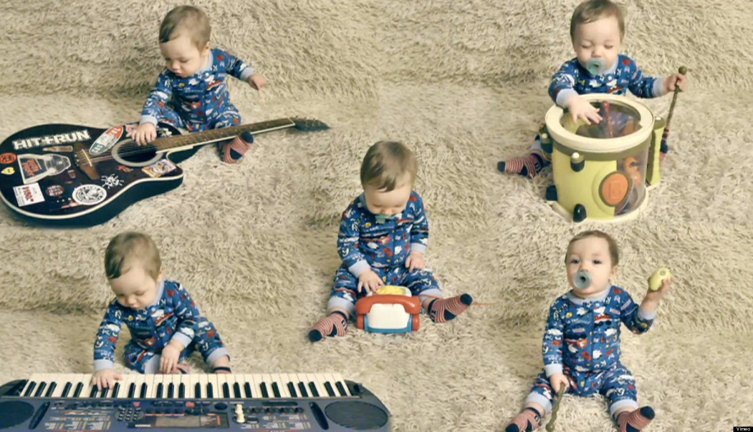 WATCH: 'One Baby Band' Stars Multi-Talented 9-Month-Old