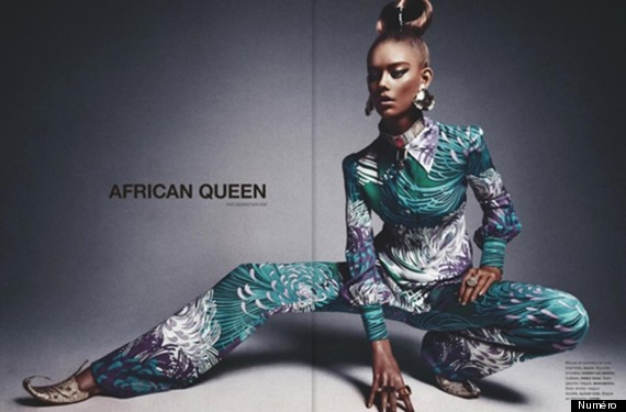 numero magazine african queen