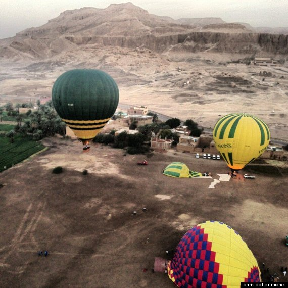 balloon crash egypt