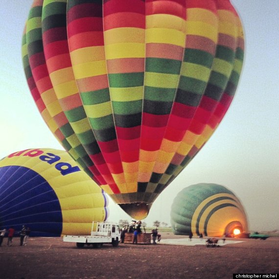 egypt balloon crash