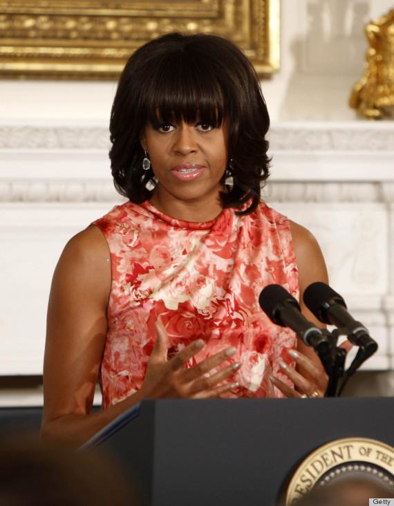 michelle obama repeats rachel roy