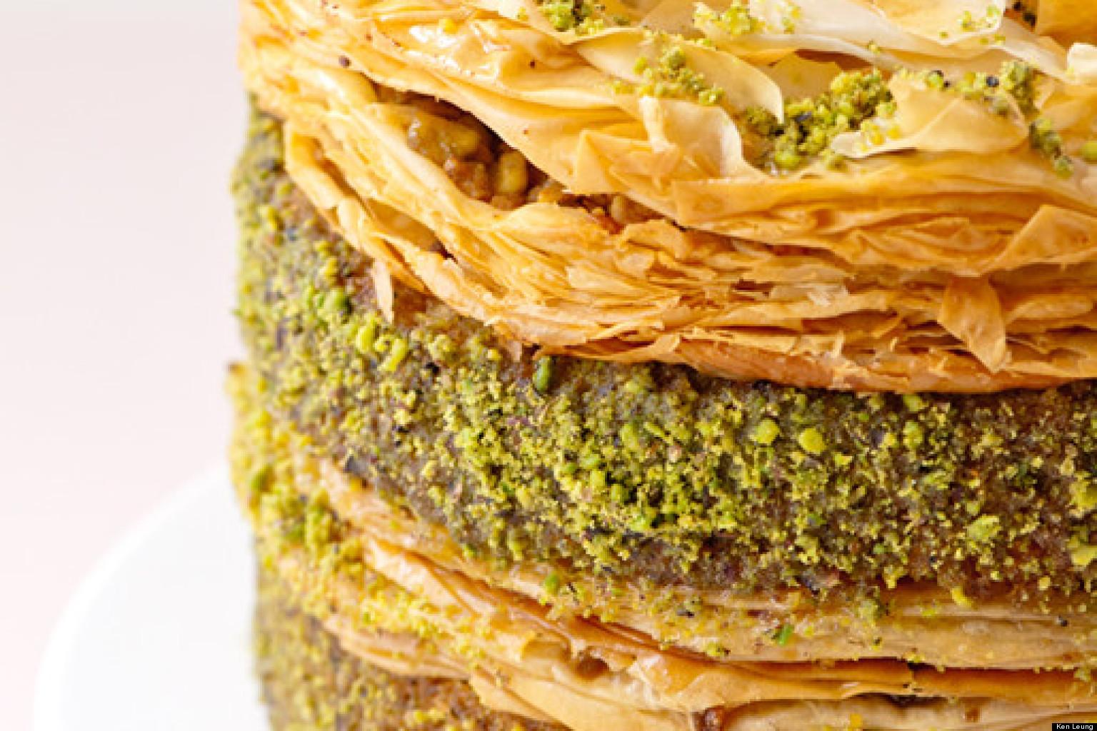 Eat This: Pistachio Baklava Cake | HuffPost