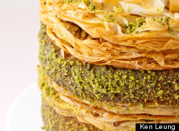 Eat This: Pistachio Baklava Cake