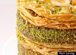 Eat This: Pistachio Baklava Cake