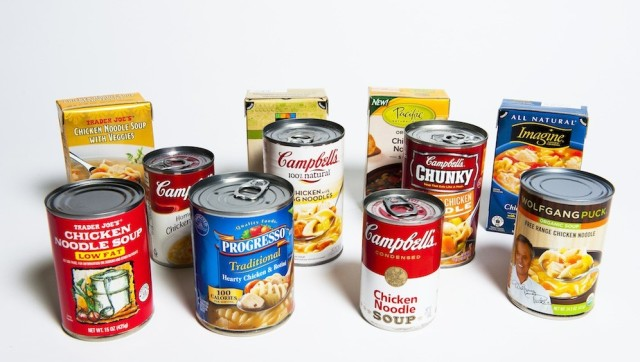 Canned soup can lead to higher blood pressure
