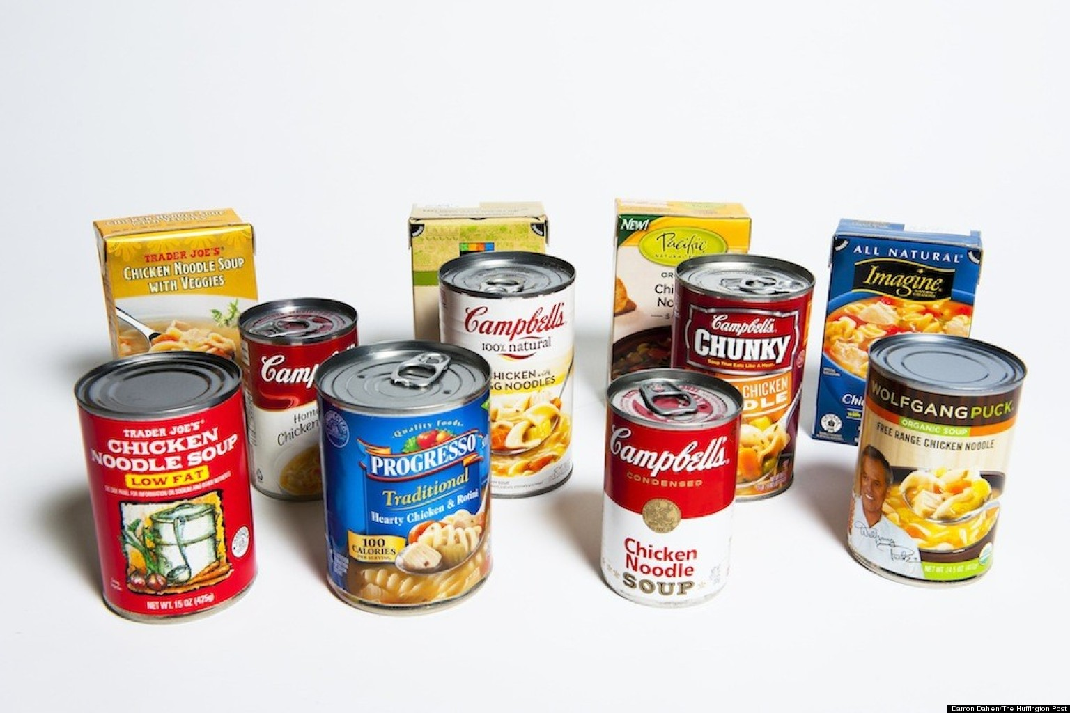 Canned+Food The Best Canned Chicken Noodle Soup: Our Taste Test ...