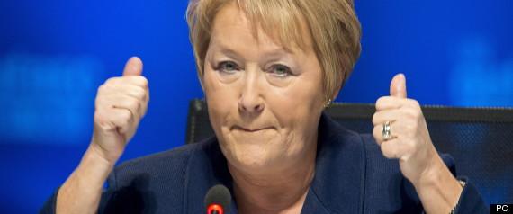 Pauline Marois Sommet Enseignement