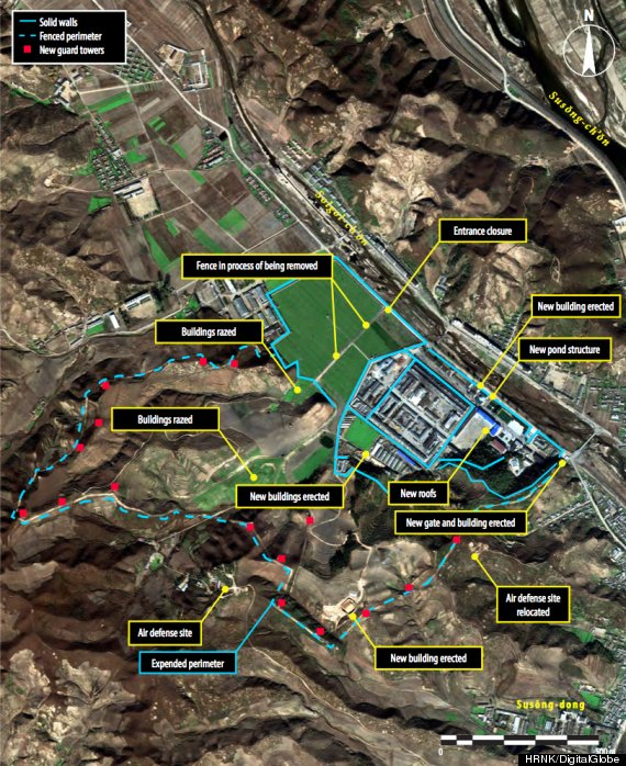 north korea prison camps