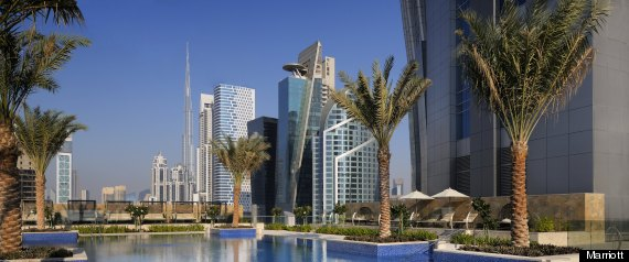 JW Marriott Marquis Dubai, World's Tallest Hotel, Opens In ...