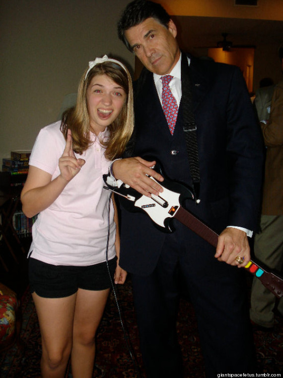rick perry guitar hero