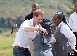Prince Harry Gets Jiggy With Nuns In Africa Visit