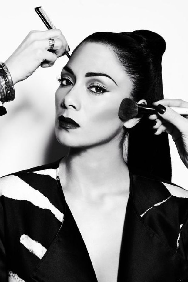 nicole scherzinger notion magazine
