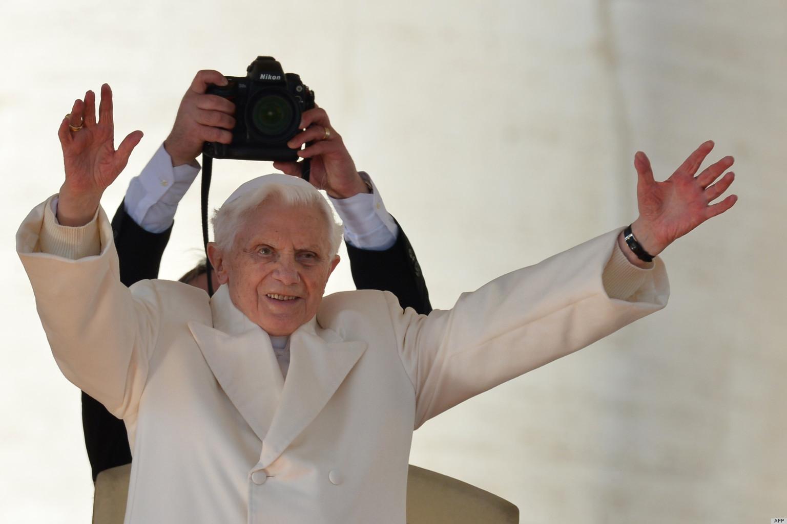 beno u00eet xvi   le pape a fait ses adieux