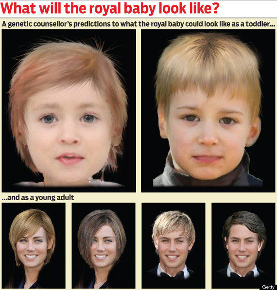 Duchess Of Cambridge & Prince William's Baby Could Look Like (PICTURE