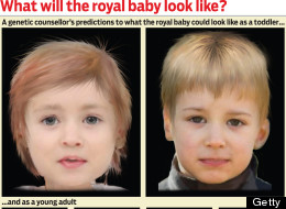 LOOK: Geneticist Reveals What Wills & Kate's Royal Baby Could Look Like