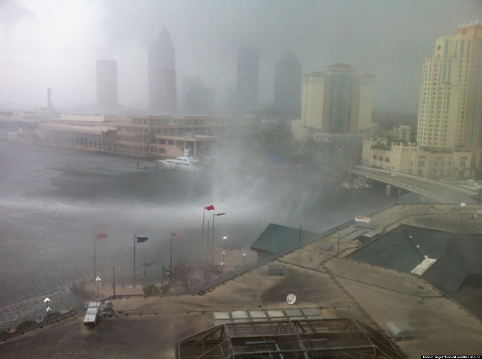Tampa Waterspout Photos Snapped By National Weather ...