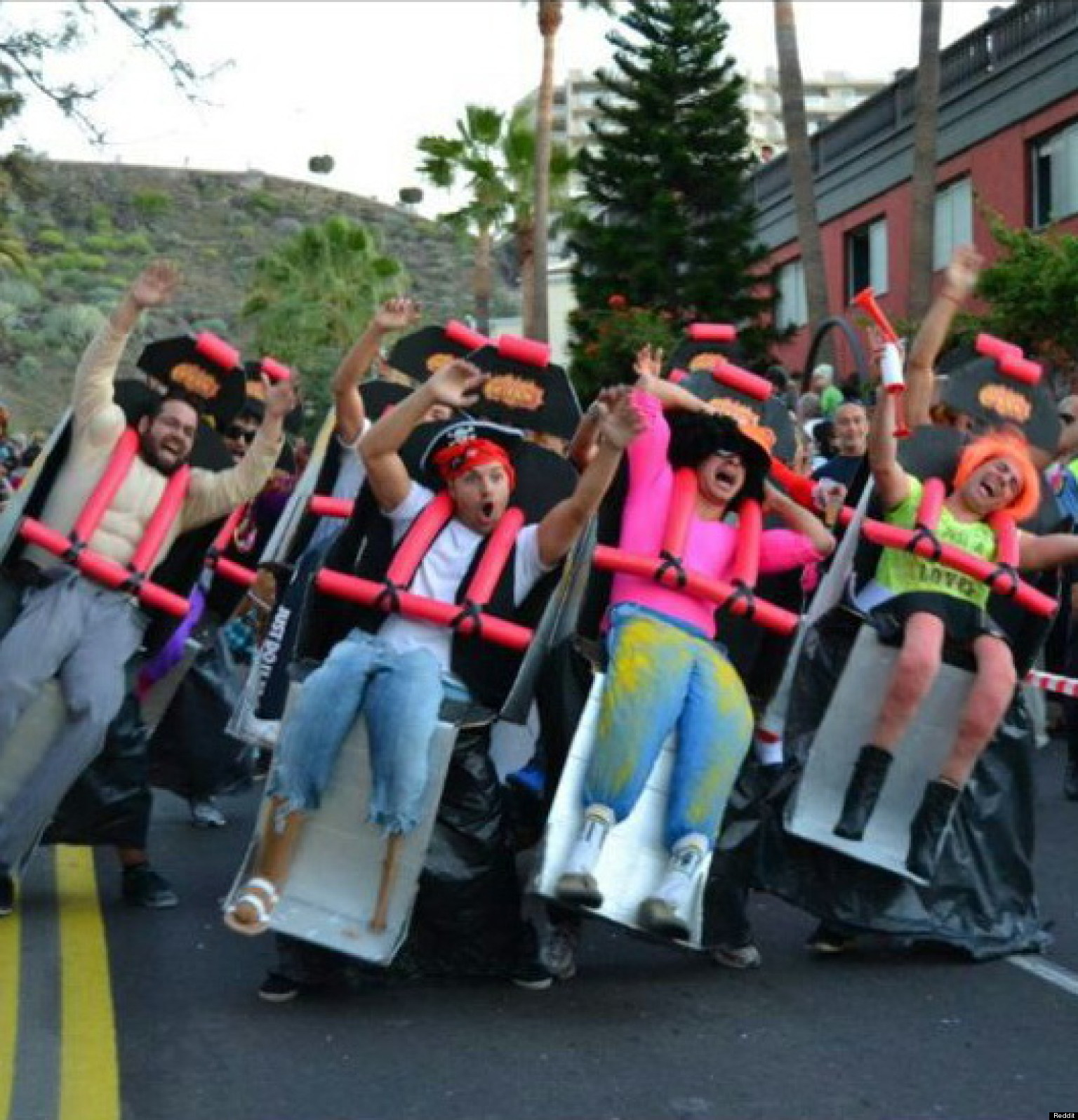 Roller Girl Costume Roller Coaster Costume Puts