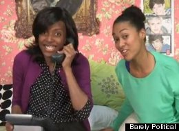 WATCH: It's 'The Sasha & Malia Show!'