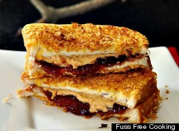 The Ultimate Peanut Butter And Jelly Sandwich