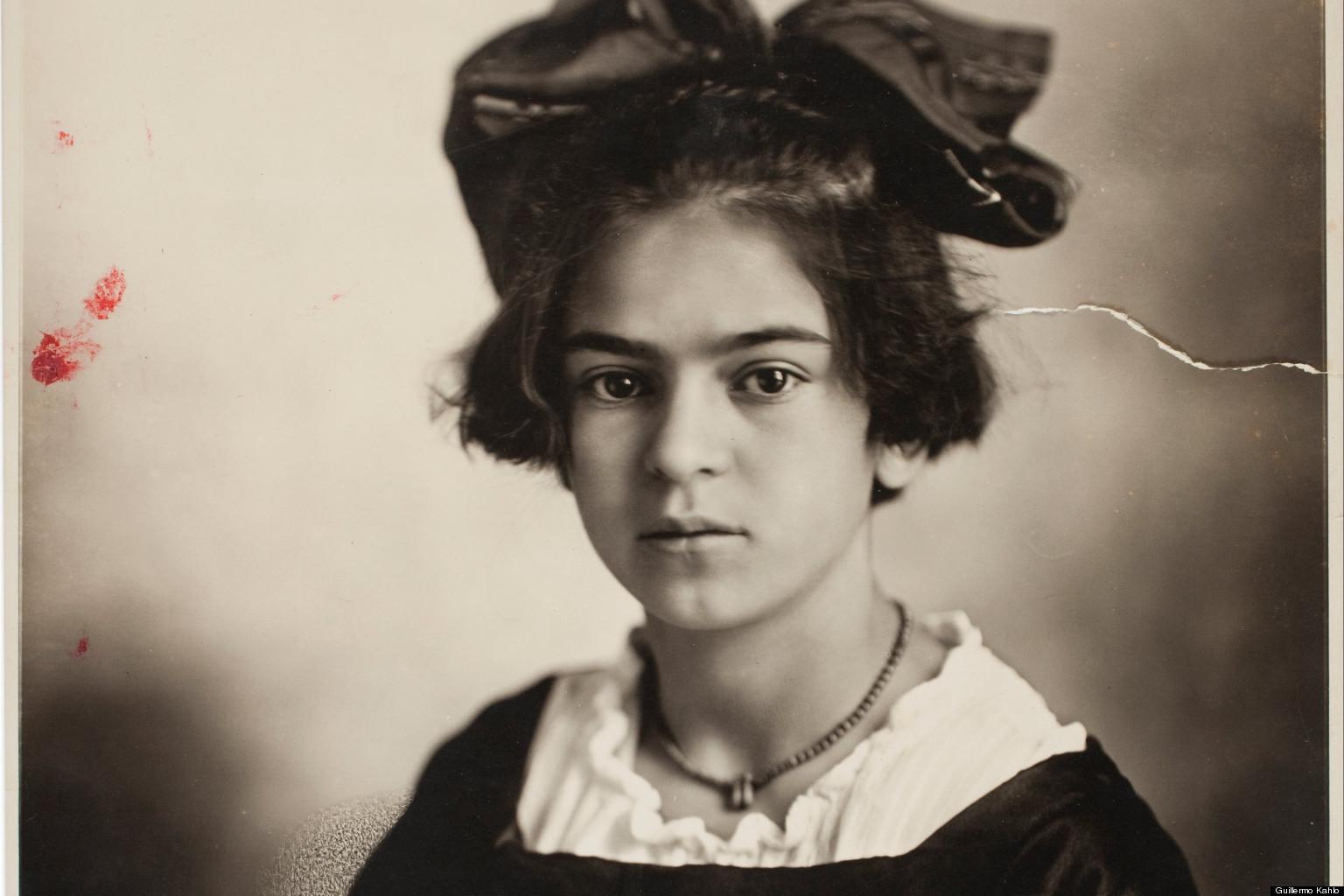 Frida Kahlo: le immagini di quando era bambina prima che ...