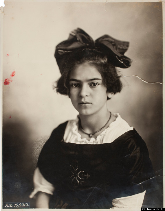 young frida kahlo