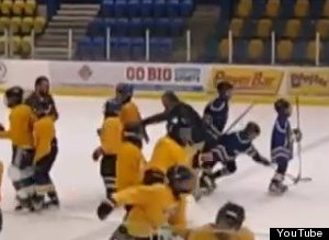 Hockey Coach Tripped Player